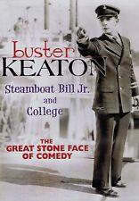 Buster Keaton: Steamboat Bill Jr. / College (Dvd, 2008, Brand New)