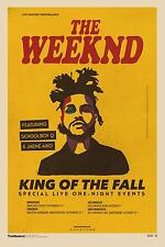 THE WEEKND 6 TOUR POSTER PRINT - A3 297X420MM PLUS A FREE SURPRISE POSTER