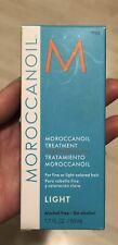NIB Moroccanoil Treatment Fine Light Colored Hair Alcohol Free 1.7 Fl Oz / 50ml