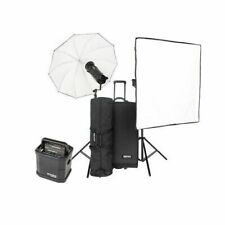 Bowens Gemini 1000Pro 2 Monolight Kit, Stand Bag, Trolley Case, 2 Flash Tube, 2