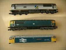 N Gauge Farish and Other 2 DUMMY class 56 and 1 damaged class 47 Body NOT boxed