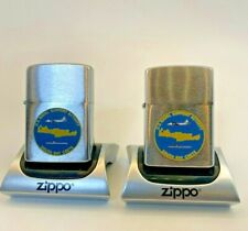 New listing 1984 Zippo U.S.N. Support Activity Souda Bay Crete - Two