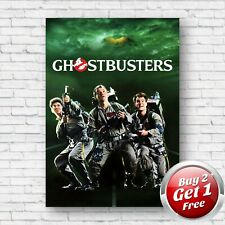 Ghostbusters 1984 Film Movie Poster A3 Un-Framed Art Print V0