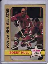 "1972-73 opc High # 228 ""Bobby Hull"" All Star HOCKEY CARD Rare Third Series Card"