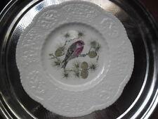 """Royal Cauldon """"ciuffolotto delle Pinete"""" Bird piatto progettato da Henry A. Pausch"""