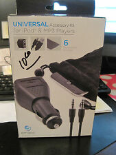 Ematic Universal Accessory Kit for iPod & Mp3 Players Ea307 New