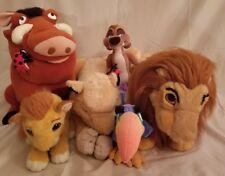 Disney The Lion King Stuffed Animal Set Of 6
