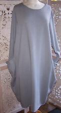 Pale Blue/Grey Parachute Dress Size 20