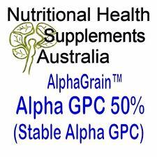 AlphaGrain Alpha-GPC 25g Powder (50% Choline alfoscerate)