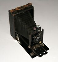 RARE GOERZ TENAX Folding Camera Goerz Dopp.Anastigmat SYNTOR 130 mm f6.8 Lens