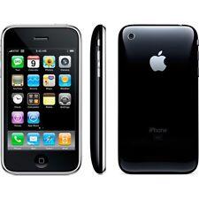 APPLE IPHONE 3G 8GB BLACK AT&T UNLOCKED SMARTPHONE MB503LL/A GSM