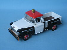 Matchbox Yesteryear 1955 Chevrolet Pick-Up Truck Texaco White and Black Code 2