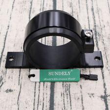Black 60mm Fuel Filter Bracket Mount Clamp Fits Bosch 044 Pump Billet Aluminum