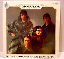 "MODULOS - Todo Tiene Su Fin (Hispavox) - '69 Spain press prog - 7""/45rpm w/PS"
