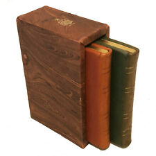 Vintage Set / Mark Cross Leather Bound Address Books
