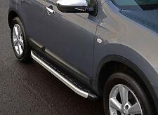 Fit: Nissan Qashqai +2 07-13: Aluminio pasos laterales corriendo Tableros Bandas Laterales