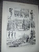 Gilbert & Sullivan Patience at the Opera Comique 1881 prints ref AN