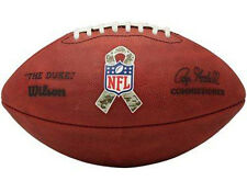 Duke Wilson Official Football authentic NFL game ball leather Salute to Service