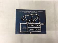 1977 MERCURY COUGAR MARQUIS MONARCH COMET BOBCAT DEALER SALES BROCHURE