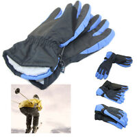 Boys Girls Waterproof Winter Gloves Snow Ski Snowboard Mittens Full-finger Glove