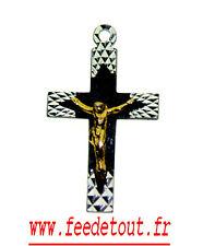 lot de 12 croix en metal pendentif  jesus christ en metal dore christianisme
