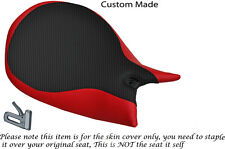 RED & CARBON DESIGN CUSTOM FITS DUCATI PANIGALE 1199 RIDER SEAT COVER ONLY