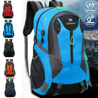 Hiking Travel Camping Sports Nylon Shoulder Backpack Outdoor Waterproof Bag 0