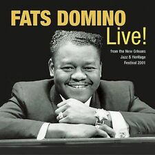 The Legends of New Orleans: Fats Domino Live! (CD, 2003, Shout! Factory)