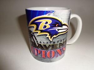 Baltimore Ravens Super Bowl 35 Champions (2001) 11 oz Traditional Coffee Mug