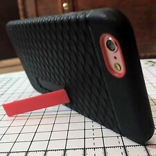iPhone 6 & 6S Hardened Ballistic Impact Resistant Reinforced Stand Case Black