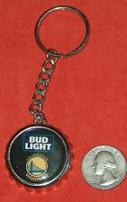 Bud Light Golden State Warriors Dubs NBA Metal Bottle Cap Key Chain Beer Opener