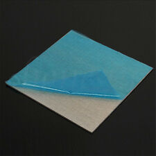 "Aluminium  Alloy Sheet Plate Silver 1x100x100mm 3.9"" x 3.9"" x 0.4"" Silver"
