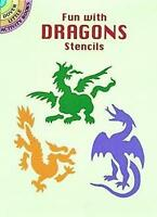 (Good)-Fun with Dragons Stencils (Dover Stencils) (Paperback)-Kennedy, Paul E.-0