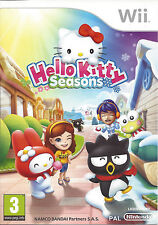 HELLO KITTY SEASONS for Nintendo Wii - with box & manual - PAL