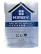 6 X Kirby Genuine Micron Magic Sentria HEPA Vacuum Bags 204808 Sc2508