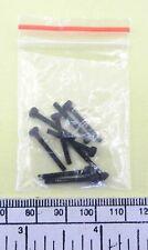 M2 x 10 socket head screw - black finish - pack of 10