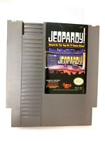 Jeopardy! ORIGINAL Nintendo NES GAME Tested WORKING Authentic