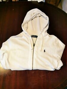 Ralph Lauren Polo White hoodie M