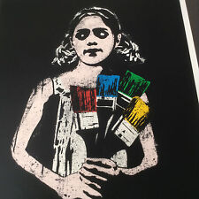 DOLK - 'PAINTBRUSH GIRL'  LIMITED EDITION - RARE - EXCELLENT CONDITION