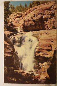 Colorado CO Redstone Marble Hays Creek Falls Crystal River Postcard Old Vintage