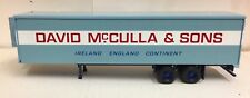 CORGI CLASSICS FRIDGE TRAILER TWIN AXLE DAVID McCULLA & SONS IRELAND LJV 917R