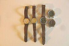 Lip  Lot de cinq montres de poignée pour pièces détachées Réf B/T