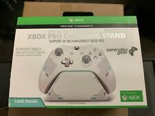 OB Controller Gear Sport White Special Edition Xbox Pro Charging Stand