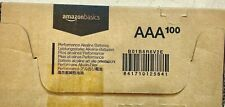 100 Amazon Basics AAA 1.5 Volt Performance Alkaline Batteries Bulk exp. 2028