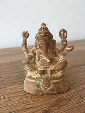 Antique Copper Statue Of Lord Ganesha, Ganapati, Vinayaka, Buddhism, Hindu