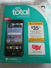 TOTAL WIRELESS  NEW IN BOX, LG REBEL 4G LTE CELL PHONE