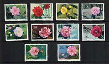 Postfrische Briefmarken aus China mit Blumen-Motiv