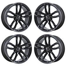 """20"""" Audi A7 A8 S7 Black Chrome Wheels Rims Factory Oem 2018 Set 4 58981 Exchange"""