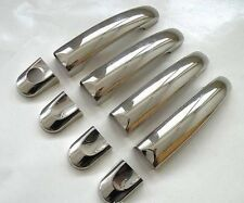 Chrome Door Handle Stainless Steel Set 4 pcs. Covers Blinds for