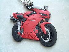 Ducati Corse 1098 1098r 1098s Llavero de goma muy raro , no ver ESTOS A MENUDO